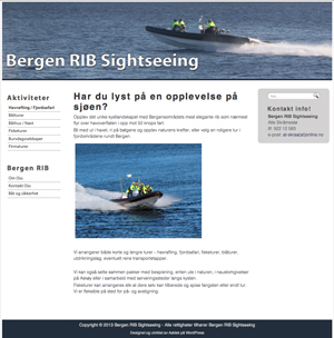 Bergen RIB Sightseeing